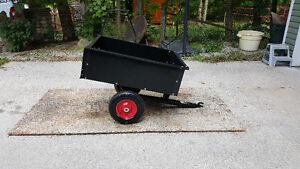 Dump Cart USED TWICE.LAWN ROLLER.
