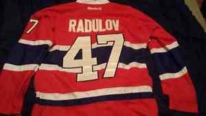 Chandails du Canadiens Radulov Flambant neuf Brodé 60$!