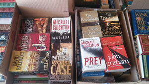 Boxes full of great popular books (Over 800+ books)
