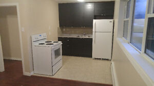 A spacious one bedroom apartment