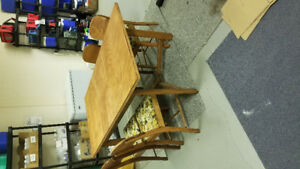 Hand Crafted Dining Room Table and Chairs
