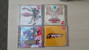 Japanese Dreamcast Game Collection (In Box)