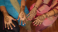 Affordable Henna/Mehndi Services. Call or text on 780-200-1420