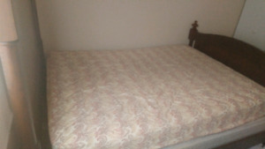 Queen Bed and Dresser for Sale