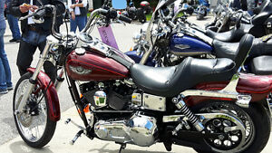 100TH ANNIVERSARY HARLEY DYNA WIDE GLIDE $ 10,500