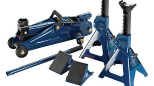 Certified 2-ton Jack and Stand Kit from Canadian Tire