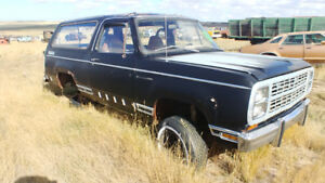 1979 Dodge Ramcharger 4x4