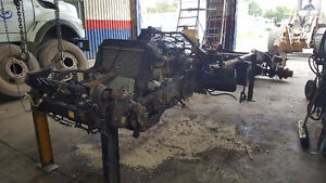 Salvage Chassis, 2012 Fuso FE180