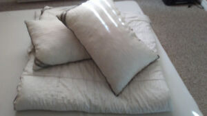 Queen size Comforter and 2 Pillows set