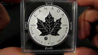 2011 $5 Canada F15 Privy Reverse Proof Silver Maple Leaf Coin