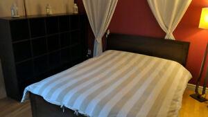 Chambre a louer, lit Queen, dans grand condo, tout inclus, 450 $