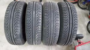 Pirelli tires and rims