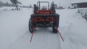 Heavy duty bale spear skid steer quick connect (Sale pending)