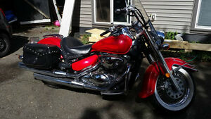 Suzuki Boulevard C50 LOTS OF CHROME