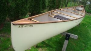 Swift Keewaydin Canoe. made with Swiftech, ash and maple