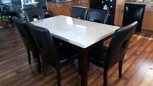 7 piece table set Kitchener / Waterloo Kitchener Area image 1