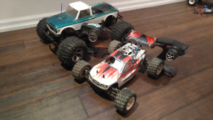 Losi lst/lstxxl2 and thunder tiger tomahawk