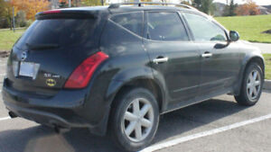 2003 NISSAN MURANO SE SUV– LEATHER, SUN ROOF, BOSE +: $2875