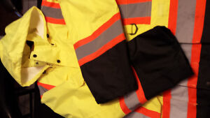 Reflective Outerware Insulated Work Jacket