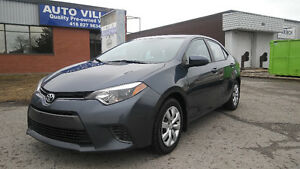2015 COROLLA LE HEATED SEATS,CAMERA, BLUETOOTH, CLEAN CARPROOF
