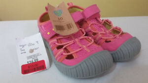 Pink M.A.P. sandals, toddler size 10 BNWT