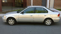 1998 Honda Civic** NEW TIRES** INEXPENSIVE IN GAS**
