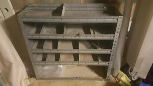 Work vehicle storage/organizer
