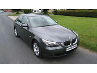 2006 '56' BMW 525 E60 DIESEL SE AUTO ** FSH, LEATHER, BLUETOOTH, ECONOMICAL **