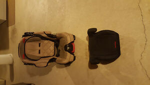 Car SEAT AND BOOSTER SEAT,  Perfect Condition