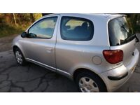 Toyota Yaris 1.0litre Petrol. New MOT, service and 4 tyres.