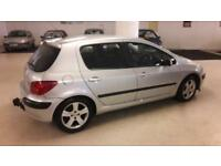 Peugeot 307 2.0HDi 90 ( dig a/c ) 2002MY GLX low miles for year 01603 622313