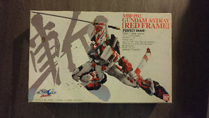 Gundam Astray Red Frame PG with resin wing weapon conversion