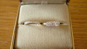 Ladies engagement/wedding set