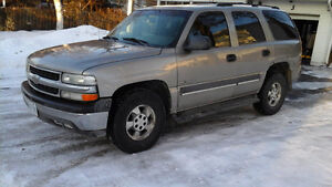 2003 e-tested Chevrolet Tahoe SUV, Crossover $ 3,000. Sold as is