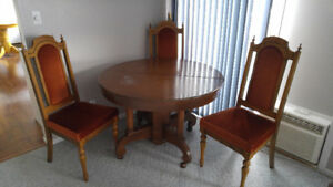 79 Dining Table For Sale Kelowna Antiquqe Oak And 4