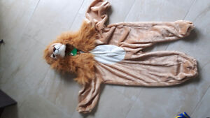 Costume de lion 2 ans