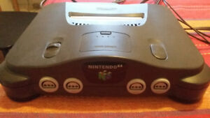 Nintendo 64, 2 controllers and memory card, all great condition