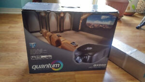 Brand New Quantum Projector QX550 and screen $300 or Trades