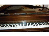 John broadwoods and sons baby grand piano
