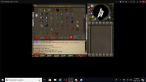 1800 total level max main for sale OSRS