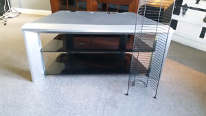 TV stand and dvd rack