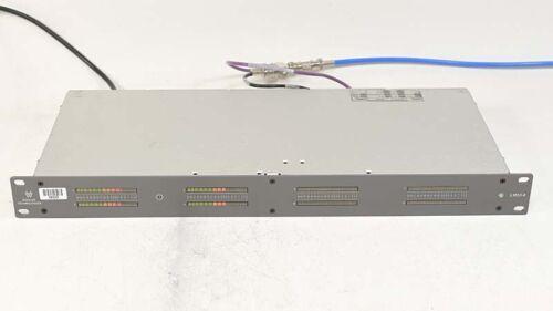 Wohler LM53-8 Rackmount Digital AES 8-Channel 53-Segment Bargraph Level Meter