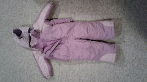 Girls size 2 snowsuit
