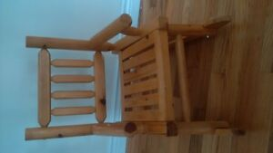 kids' rocking chair
