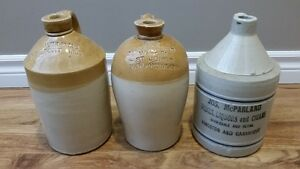 Looking to purchase old stoneware crocks or jugs