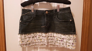 NEW Jean skirt perfect for Spring