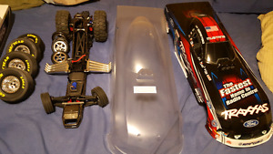 New Brushless Traxxas Dragster w/ timing lights