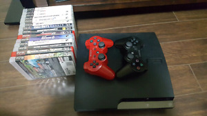 Ps3, 2 controllers and games