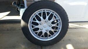 195/65 R15 Winter Ice Radials and Rims