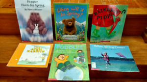 6 Spring-themed children's picture books